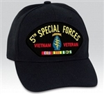 5 Special Forces (5th) Vietnam Veteran BALL CAP or PATCH