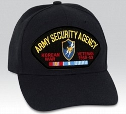 Army Security Agency (ASA) Korea Veteran BALL CAP or PATCH