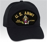US Army Iraqi Freedom Veteran BALL CAP or PATCH