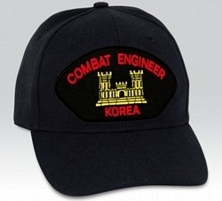 Engineer, Combat, Korea BALL CAP or PATCH