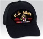 US Army Iraqi Freedom Veteran W/Ribbons BALL CAP or PATCH