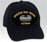 VIEW Combat Action Badge Iraq Ball Cap