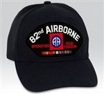 82 Airborne Division (82nd) Iraqi Freedom Veteran BALL CAP or PATCH