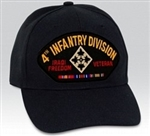 4 Infantry Division (4th) Iraqi Freedom Veteran BALL CAP or PATCH