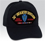 36 Infantry Division (36th) Iraqi Freedom Veteran BALL CAP or PATCH