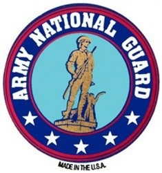 VIEW Army National Guard Magnet