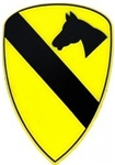 1 Cavalry Division (1st) Magnet