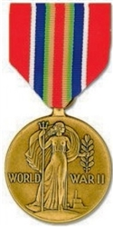 VIEW Merchant Marine WW II Victory Medal