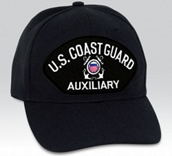 US Coast Guard Auxiliary BALL CAP or PATCH