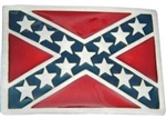 Confederate Flag Belt Buckle