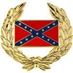 VIEW Confederate Wreath Lapel Pin