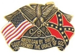 VIEW American By Birth Lapel Pin