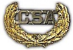 VIEW Confederate States Of America (CSA) Cap Badge