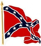 VIEW Confederate Flag Magnet