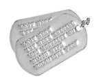 Military Dog Tags (Modern Era - After 1964) (Un-Notched)