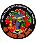 Firefighter Real American Hero Back Patch