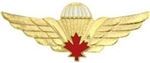 Canadian Jump Wings Pin