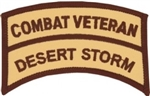 VIEW Combat Veteran Desert Storm Patch