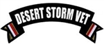VIEW Desert Storm Vet Rocker Back Patch