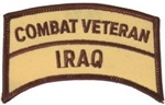 Combat Veteran Iraq Patch