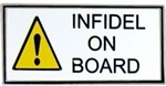 VIEW Infidel On Board Lapel Pin