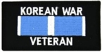 Korea War Veteran Patch