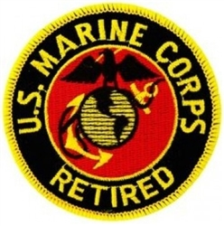 US Marine Corps Retired Patch