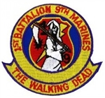 1 Battalion (1st), 9 Marines (9th), The Walking Dead Patch