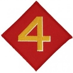 4 Marine Division (4th) Patch