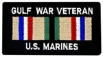 Gulf War Veteran US Marines Patch