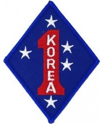 VIEW 1st Marine Division Korea Patch
