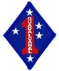 1 Marine Division (1st) Patch