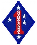 VIEW 1st Marine Division Patch