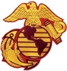 United State Marine Corps Globe And Anchor BACK PATCH