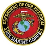 Defenders Of Freedom US Marine Corps Back Patch