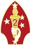2 Marine Division (2nd) Pin