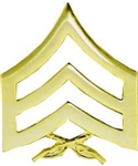 US Marine Corps E5* Sergeant (SGT) Pin