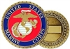VIEW US Marine Corps Challenge Coin