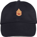 US Marine Corps Rank E6 Staff Sergeant (SSgt) BALL CAP or PIN