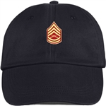 US Marine Corps Rank E7 Gunnery Sergeant (GySgt) BALL CAP or PIN