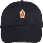 US Marine Corps Rank E8* First Sergeant (1stSgt) BALL CAP or PIN