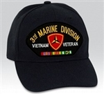 3 Marine Division (3rd) Vietnam Veteran BALL CAP or PATCH