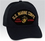 US Marine Corps Iraqi Freedom Veteran BALL CAP or PATCH