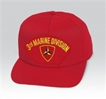 3 Marine Division (3rd) BALL CAP or PATCH