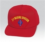1 Marine Division (1st) BALL CAP or PATCH