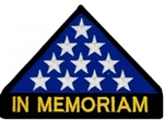 In Memoriam Folded Flag Patch