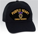 VIEW Purple Heart Combat Wounded Ball Cap
