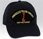 America's Fallen Heroes BALL CAP or PATCH