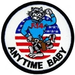F-14 Tomcat Anytime Baby Patch