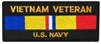 Vietnam Veteran US Navy Patch